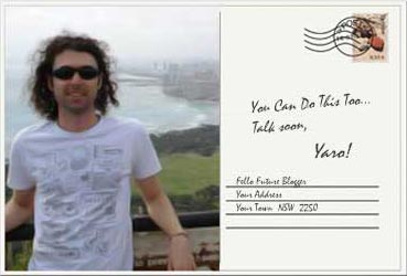 Postcard From Yaro